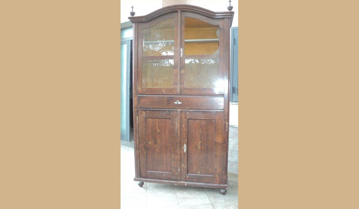 Credenza Con Vetrina Antica : Credenza con vetrina