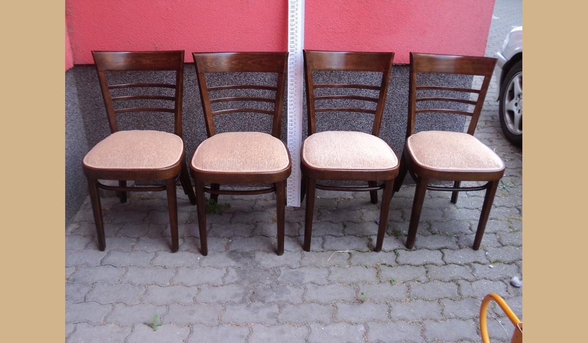 Sedie Depoca : Sedie depoca in castagno massello lucidate e tappezzate epoca