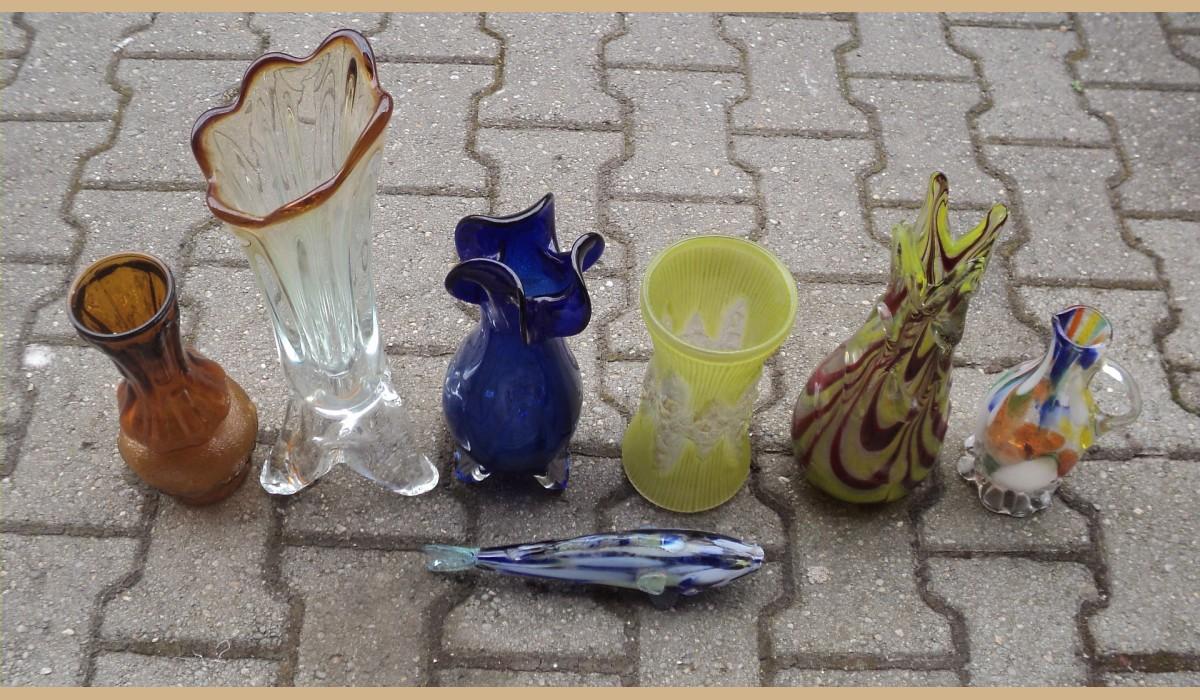 oggetti in vetro da collezione o da regalo vari tipi pezzi